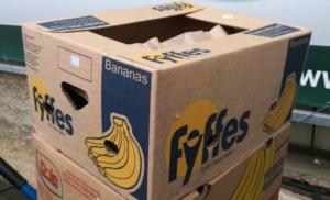 banánové krabice k prodeji