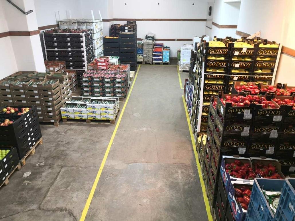 sklad ovoce zelenina Vitamix Plzeň