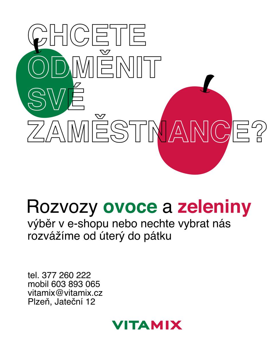 Rozvoz ovoce a zeleniny pro firmy Plzeň