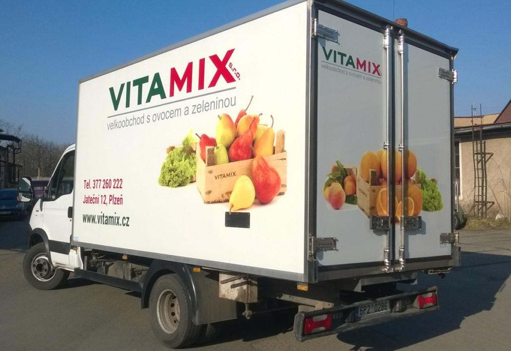Rozvoz ovoce a zeleniny v Plzni - Vitamix s.r.o.